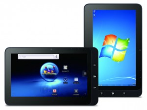 ViewSonicten Windows+Android Tablet
