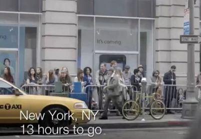 Samsungdan Apple İle Dalga Geçen Video
