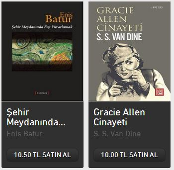 TTNet ve Turkcell E-Kitap Servisleri