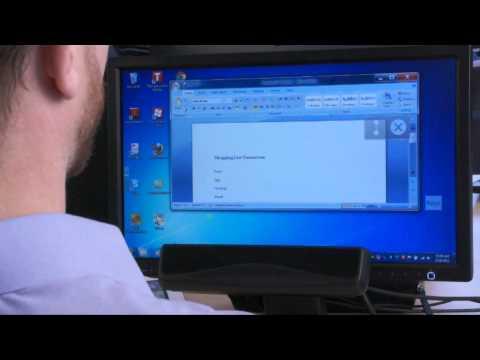 Gözle Kontrol Edilebilen Bilgisayar