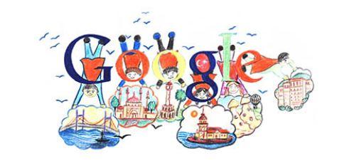 Doodle Türkiye Kazananı Google Anasayfasında