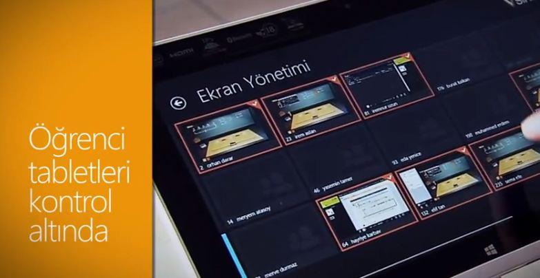Windows 8 ve V-Sınıf İle Sınıf Tablet Yönetimi