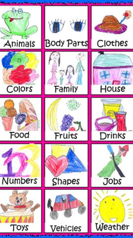 Çocuklar İngilizce Sözlük