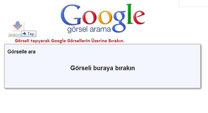 Google'da Bir Resmi Arama