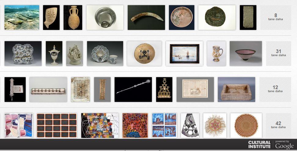 Google İle Müzeleri Keşfedin
