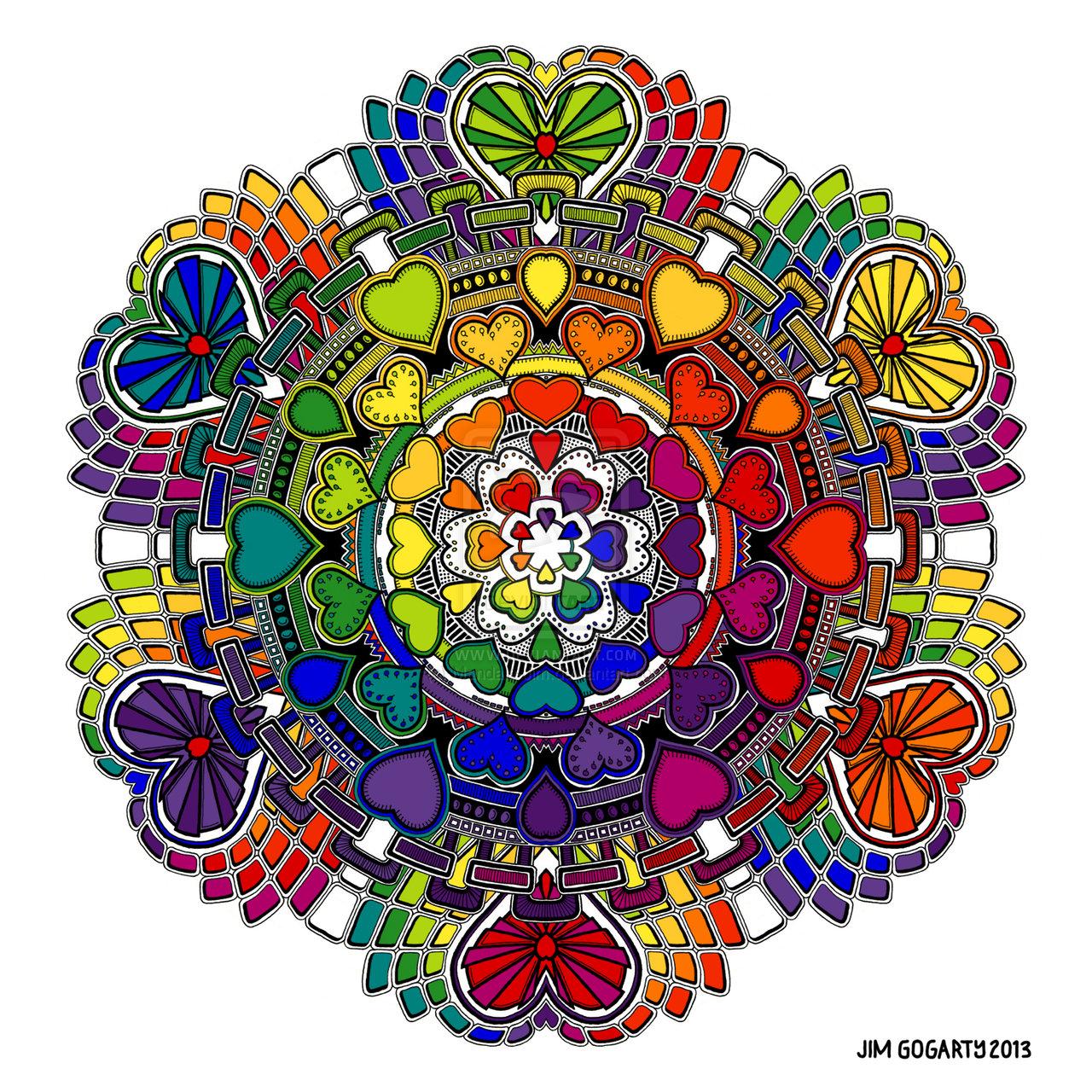 Çocuklar İçin Mandala