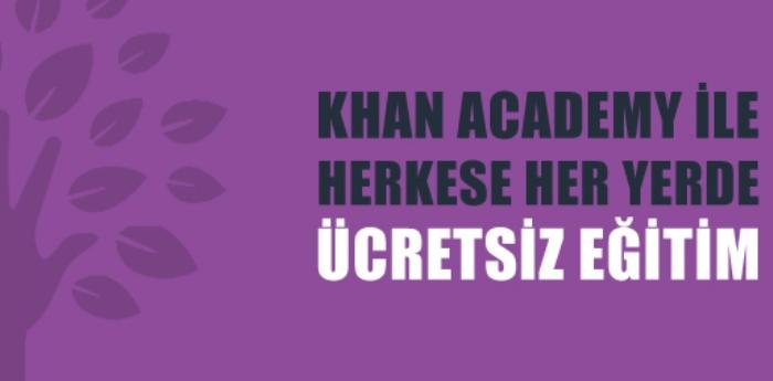 Khan Akademi Artık Türkçe