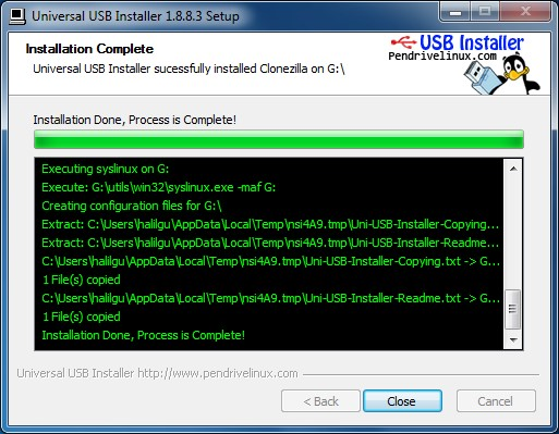 Etkileşimli Tahtaya USB Bellekten Format Atma