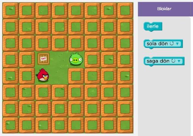 Angry Birds İle Programlama Öğrenin