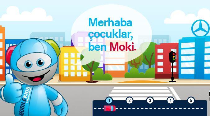 Mercedes'ten Çocuklara Trafik Eğitimi