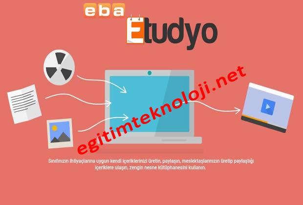 ETUDYO Eğitsel İçerik Hazırlama Uygulaması