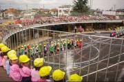 Yuvarlak Okul Tasarımı