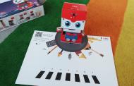 Ahşap Robot Spacebot